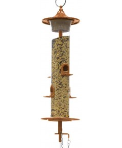 Effortless : EFL202CC* ที่ใส่อาหารนก Wild Bird Feeder, 14 inch, Copper
