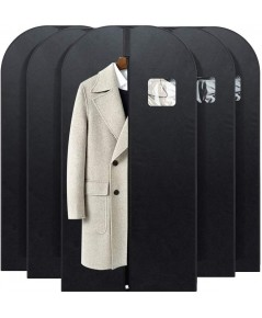 FU GLOBAL : FGBFU09132* ถุงคลุมเสื้อผ้า Garment Bag Breathable Suit Bag 54 inch, 5-pack