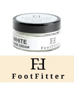 FootFitter : FOFWHE* ครีมขัดรองเท้า Premium Shoe Cream Polish White 1pk.