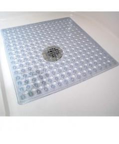 Gorilla Grip : GLGAMZ006* เสื่อกันลื่น Bath, Shower, Tub Mat (21x21 inch) White
