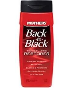 Mothers : MTH06112* น้ำยาเคลือบ Back-to-Black Trim  Plastic Restorer 12oz.
