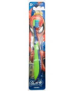 Oral-B : OLBAMZ003* แปรงสีฟัน Kids Spider Man Toothbrush - 1 pk.