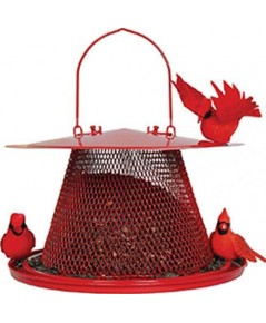 Perky-Pet : PKPC00322* ที่ใส่อาหารนก Red Cardinal Bird Feeder