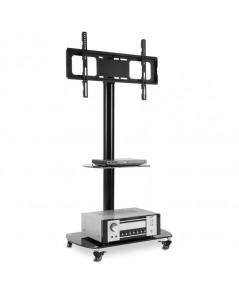 Rfiver : RFVTF8001* ขาแขวนทีวี Black TV Cart Mobile
