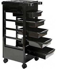 Saloniture : SLNTROL40-15* ชั้นใส่ของเอนกประสงค์ Beauty Salon Rolling Trolley Cart