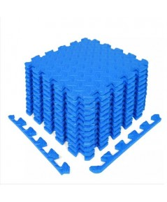 Yes4All : Y4AAMZ003-BLE* แผ่นโฟมรองกระเเทรก  Yes4All Interlocking Exercise Foam Mats, Blue