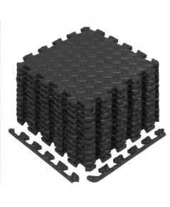 Yes4All : Y4AAMZ001-BLK* แผ่นโฟมรองออกกำลังกาย Yes4All Interlocking Exercise Foam Mats, Black