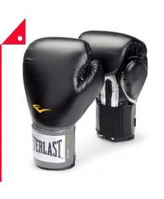 Everlast : EVL 1200014* นวมฝึกซ้อมมวย Pro Style Boxing Gloves 14oz, Black