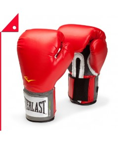 Everlast : EVL 1200007* นวมซ้อมมวย Everlast Pro Style Boxing Gloves 12oz, Red