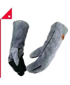 WZQH : WZQAMZ001* ถุงมือหนังสำหรับงานช่าง Leather Forge Welding Gloves