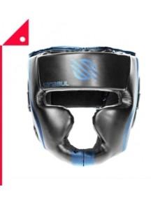 Sanabul : SNBEHG-BLK-SM* นวมสวมศีรษะ Essential Professional Boxing MMA Kickboxing Head Gear S/M