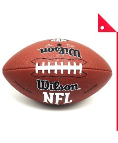 Wilson : WLS WTF1570ID* ลูกบอลรักบี้ NCAA Red Zone Series Composite Football - Official Size