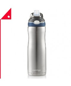 Contigo : CTG 2076625* แก้วน้ำสแตนเลส Vacuum-Insulated Stainless Steel Water Bottle 20oz.