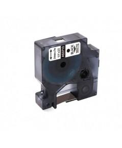 Freshworld : FHWA53713* เทปพิมพ์อักษร Compatible Labeling Tape 1pk. (1 Inch. Black on White)