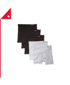 Hanes : HNS7460Z5-S* กางเกงบล็อกเซอร์ Men's Tagless Comfortsoft Waistband Boxer 5pk. Size- S