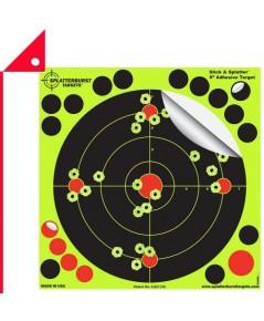 Splatterburst : SPB SS800* เป้าซ้อมยิง Targets Stick  Splatter Adhesive Shooting Targets 8 Inch. 25