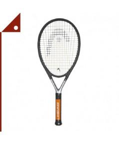 HEAD : HED234914* ไม้เทนทิส Ti S6 Tennis Racket Pre-Strung Head Heavy Balance, 4.125 inch, Graphite
