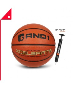 AND1 : AND1XCR-7* ลูกบาสเกตบอล AND1 Xcelerate Rubber Basketball - Size 7
