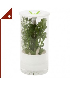 Honey-Can-Do : HCD06398* โหลเก็บผัก Glass Herb Preserver, Clear