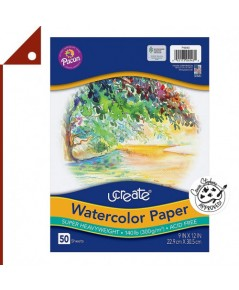 UCreate : UCAP4943* กระดาษวาดรูป Watercolor Paper 9 x 12 Inch.
