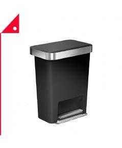 simplehuman : SPHCW1385* ถังขยะ Rectangular Kitchen Step Trash Can 45 Liter