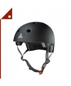 TPE 3028-M* Triple Eight Dual Certified Bike Skateboard Helmet, Size M
