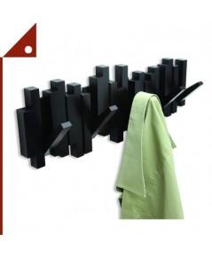 Umbra : UMB318211-040* ตะขอเเขวนผนัง Sticks Multi Modern Rack, Black