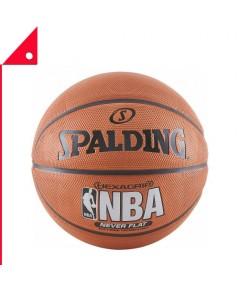 Spalding : SPD73792* ลูกบาสเกตบอล NBA SGT Neverflat Hexagrip Basketball - Size 7