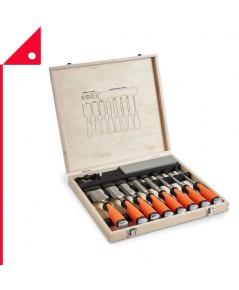 VonHaus : VNH 15/085* ชุดสิ่ว 10 pc Premium Chisel Set