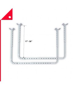 HyLoft : HLF80842* โครงชั้นเก็บของบนเพดาน Adjustable Garage Ceiling Mount Storage Rack Kit