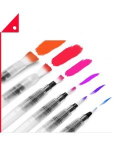 Ohuhu : OHH4336960679* ปากกาหัวพู่กัน Water Coloring Brush Pens Set of 6
