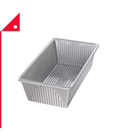 USA Pan: USP 1145LF* ถาดอบขนม Pan Bakeware Aluminized Steel Loaf Pan, 1.25 Pound