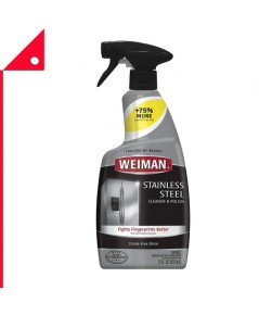 Weiman : WIM 108P* น้ำยาทำความสะอาดสแตนเลส Stainless Steel Cleaner and Polish 22oz.