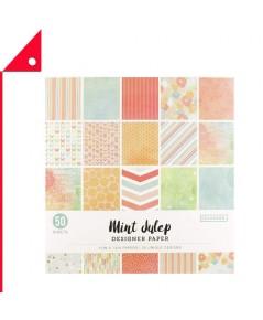 Colorbok : CLB73490A* กระดาษสี Designer Paper Pad Mint Julip