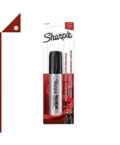 Sharpie : SHP44101* ปากกามาร์คเกอร์ Chisel Tip Magnum Permanent Marker, Black