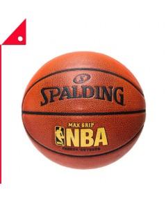 Spalding : SPD74-900E* ลูกบาสเกตบอล NBA Max Grip Basketball, Size 7