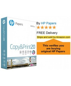 HP : HPA200170* กระดาษปริ้น Paper Printer Copy & Print 8.5x11, 1 Ream
