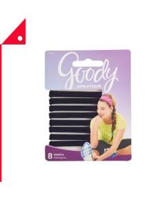 Goody : GOD07496* ยางรัดผม Women's Athletique Sweat Stretch Elastics, 8 Count