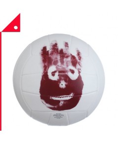 Wilson : WLSWTH4615* ลูกวอลเลย์บอล Cast Away Replica Outdoor Volleyball, Official Size
