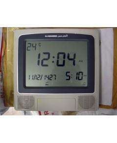 นาฬิกามุสลิมแขวนผนัง จอ LCD