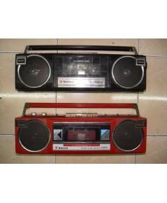 วิทยุ-เทปหูหิ้ว2 เครื่อง National มดดำ-มดแดง