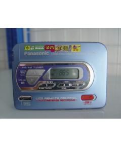 Panasonic Walk-man วิทยุ AM/FM ใช้งานได้ปกติพร้อมอุปกรณ์