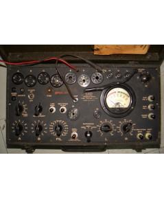 เครื่องวัดเทสหลอด SIGNAL CORPS l-177 TUBE TESTER U.S.A.อุปกรณ์เดิม เกรดทหาร