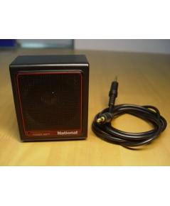 ลำโพงขยายเสียง National Made in Japan ขนาดเล็กจิ๋วใช้กับ cd-Walkman,ซาวเบ้า ,ipad,iphone ได้หมด