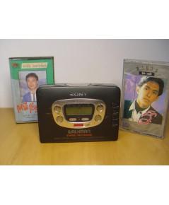 SONY Walkman WM-GX612 Cassette-Radio ใช้งานได้ปกติเสียงดีมาก