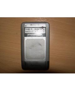 Aiwa mini-pocket Receiver AM/FM Radio ใช้งานได้ปกติ