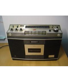 SONY CF-550A Stereo ใช้งานได้ทุกระบบทั้ง เทป วิทยุ เสียงดีมาก