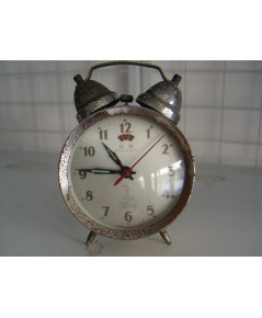 นาฬิกาปลุกโบราณ Vintage ของจีนยี่ห้อ Five Rams ใช้งานได้ปกติ