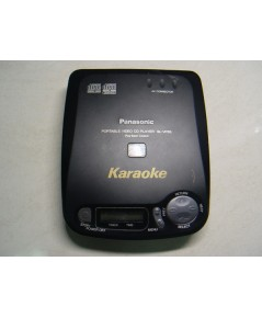 Panasonic VCD-CD Walkman Karaoke SL-VP55แบบพกพา ใช้งานได้ปกติ