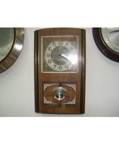 นาฬิกาแขวนลูกตุ้ม Steel Master 2 ลาน 30วัน ใช้งานได้ปกติ
